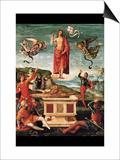 Resurrection of Christ Prints by  Raphael