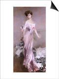 Portrait of Mrs. Howard-Johnston, 1906 Poster by Giovanni Boldini
