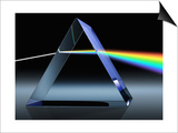 Light Beam Through Glass Prism Posters by Matthias Kulka
