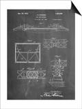 Golden Gate Bridge Patent, Long Span Bridge Prints