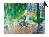 The Dinner; Le Dejeuner Print by Henri Lebasque