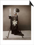 A Shinto Priest Offering Sake to the Kami, 1880 Prints by Baron Von Raimund Stillfried