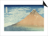 Fine Wind, Clear Morning Poster by Katsushika Hokusai