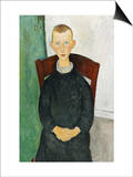 The Caretaker's Son, 1918 Prints by Amedeo Modigliani