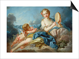 The Muse Terpsichore Posters by Francois Boucher