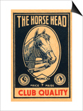Horse Head Club Quality Matches Art