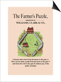 Optical Illusion Puzzle: The Farmer's Puzzle Prints
