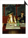 The Absinthe Drinkers Prints by Jean Béraud