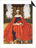 Our Lady of the Fruits of the Earth Prints by Frank Cadogan Cowper