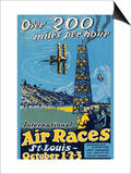 St. Louis International Air Races Posters