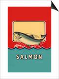 Salmon Print