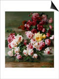 Roses Prints by Cristofano Allori