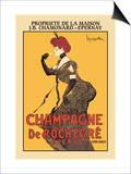 Champagne De Rochegre Poster by Leonetto Cappiello