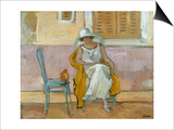 Woman in a White Dress Prints by Henri Lebasque