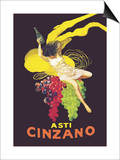 Asti Cinzano Prints by Leonetto Cappiello
