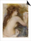 Nude Back of a Woman, circa 1879 Prints by Pierre-Auguste Renoir