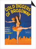 Gold Diggers of Broadway Art