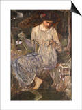 The Necklace Posters by John William Waterhouse