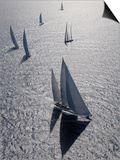 "Sy ""Adele"", 180 Foot Hoek Design, at the Superyacht Cup Palma, October 2005 Prints by Rick Tomlinson"