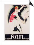 Ram, 1930 Posters by René Vincent