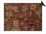The Gingerbread House; Lebkuchen Bild Posters by Paul Klee