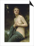 Spring Breeze Art by William Adolphe Bouguereau