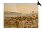 Jerusalem from Mount Zion Posters by Nathaniel Everett Green