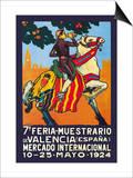 Valencia En Fa. Feria Muestrario Poster by  Simon