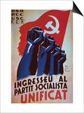 Join the United Socialists Party Print by Rafel Tona