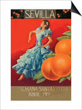 Sevilla - Fair Week Prints by Sara Pierce