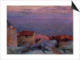 Maritime Landscape. Paysage Maritime Prints by Henri Edmond Cross