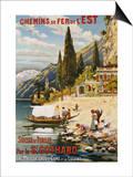 Suisse et Italie Par le St. Gothard, 1907 Posters by  Krallt