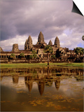 Angkor Wat temple, Cambodia, Asia Prints by Angelo Cavalli