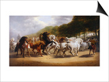 The Horse Fair Posters by John Charles Maggs
