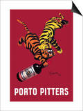 Porto Pitters Print by Leonetto Cappiello