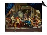 The Marriage Feast of Peleus and Thetis Prints by Gerard De Lairesse