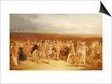 The Golfers, a Grand Match Prints by Charles Lee
