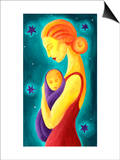 Mother and child Prints by Vicky Emptage