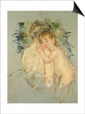 "A Study for ""Le Dos Nu"" Prints by Mary Cassatt"