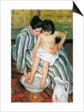 The Bath Art by Mary Cassatt