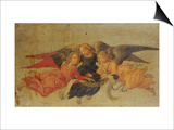 Three Angels Prints by Bartolommeo Di Giovanni