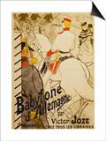Babylon D'Allemagne Lámina por Henri de Toulouse-Lautrec