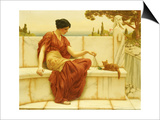 The Favourite, 1901 Posters by John William Godward