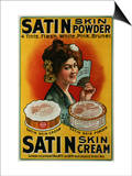 Satin Skin Powder, circa 1900 Prints