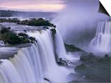 Iguazu Falls Print by Theo Allofs