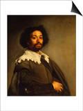 Portrait of Juan De Pareja Posters van Diego Velázquez