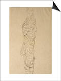 Woman in a Kimono Posters by Gustav Klimt