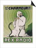 Le Charmeur, Rex-Radio, circa 1930 Poster