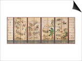 Battle Scenes, Choson Dynasty, 19th Century Poster