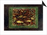 Aquarium Posters by Paul Klee